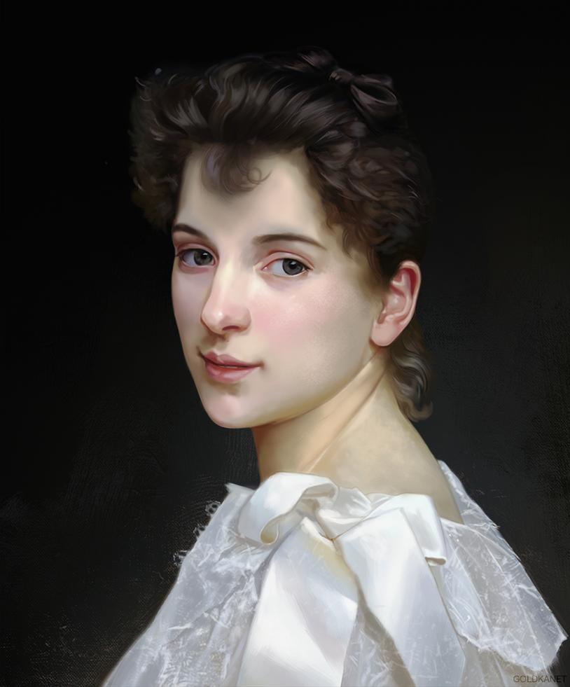Study Bouguereau by GoldKanet