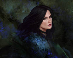 Yennefer by GoldKanet