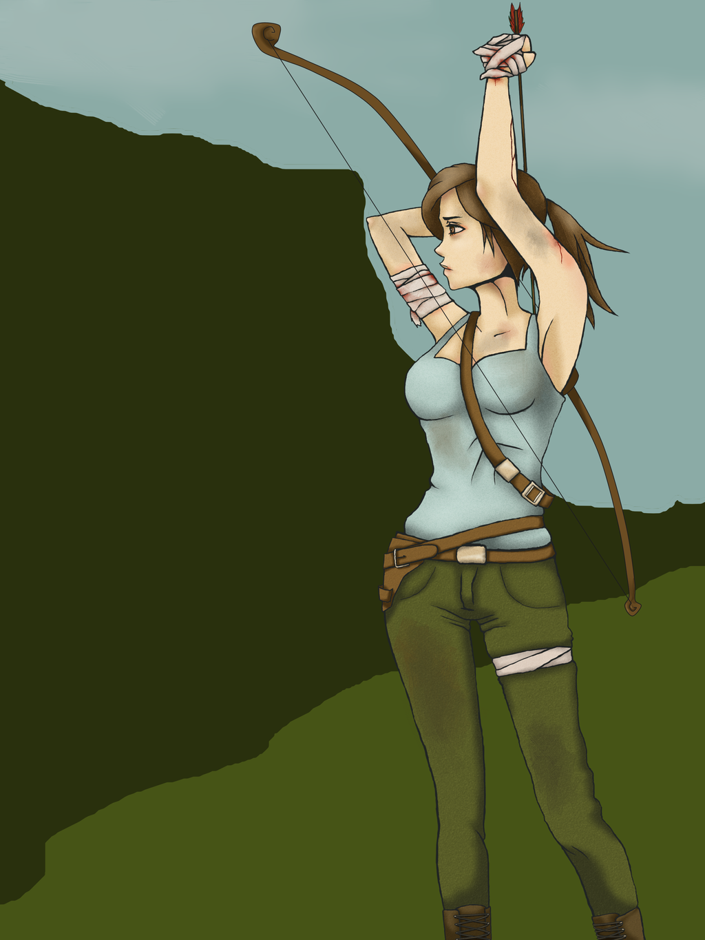 Lara Croft by TalaCheeseCake