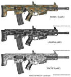 CMT-5 556 Tactical carbine digital camo kit