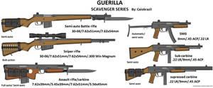 Guerilla Scavenger series by caiobrazil