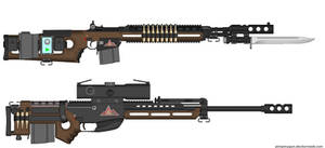 Saltwork - USBN Defense Systems M14 and WA2000