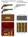 Revolver de exportacao .458 SOCOM