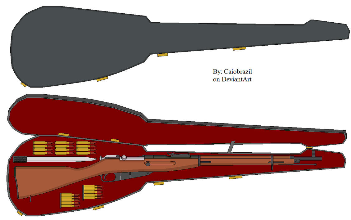 modelo 1900 rifle in a guitar case by caiobrazil on deviantart. Black Bedroom Furniture Sets. Home Design Ideas