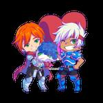 RPG Maker 2021 Valentine Day Chibi