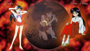 Sailor mars wallpaper