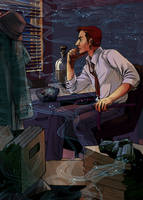Jackie the Detective by digitalruki