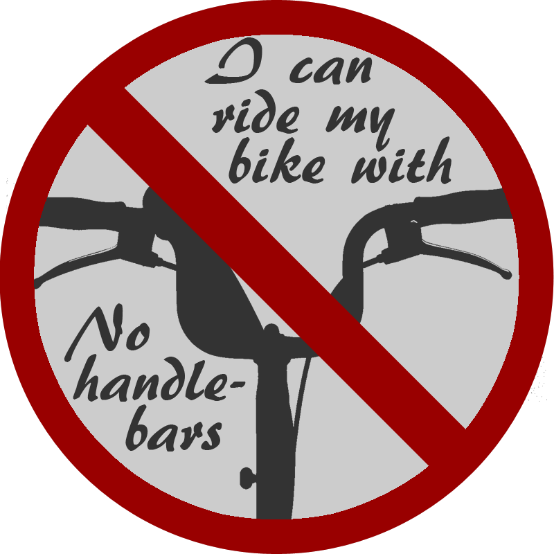 No Handlebars by MouseDenton