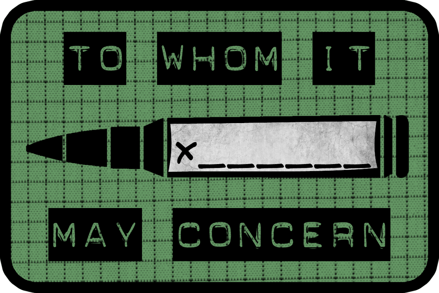 To Whom It May Concern-Textured by MouseDenton