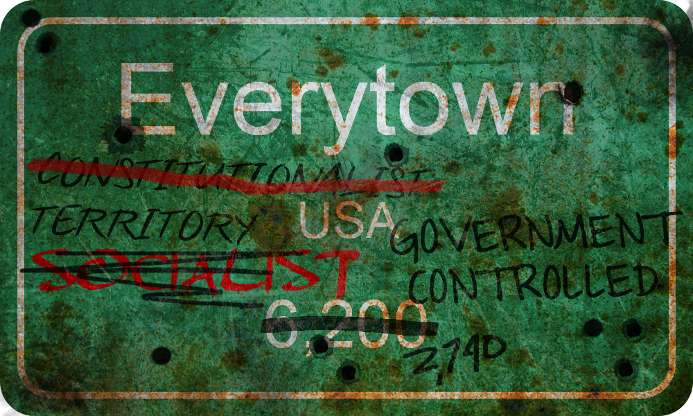 Everytown USA by MouseDenton