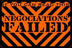 Negotiations Failed - Orange by MouseDenton