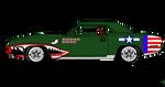 USAAF '70 Barracuda paint job Mk.2