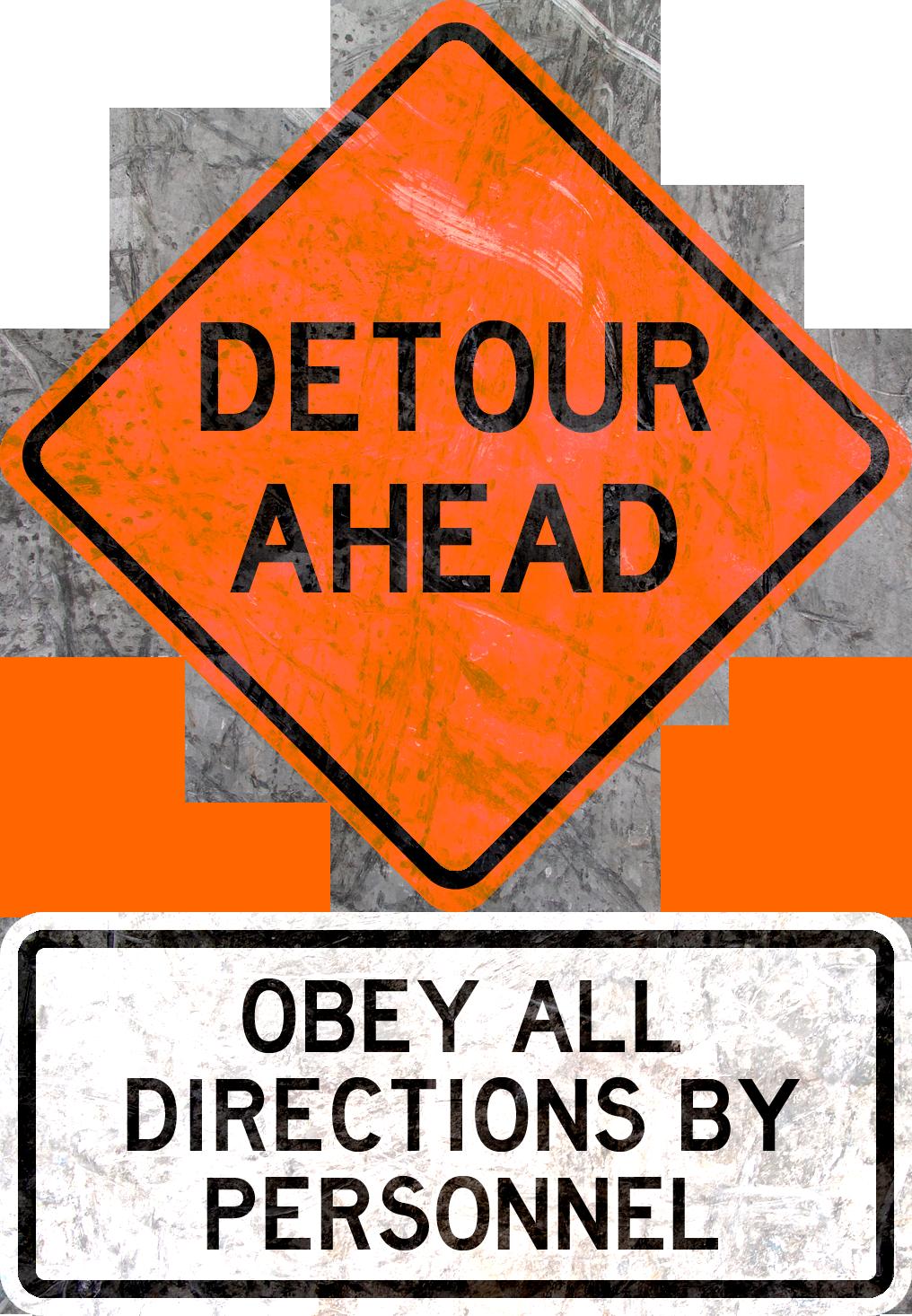 Detour Ahead by MouseDenton
