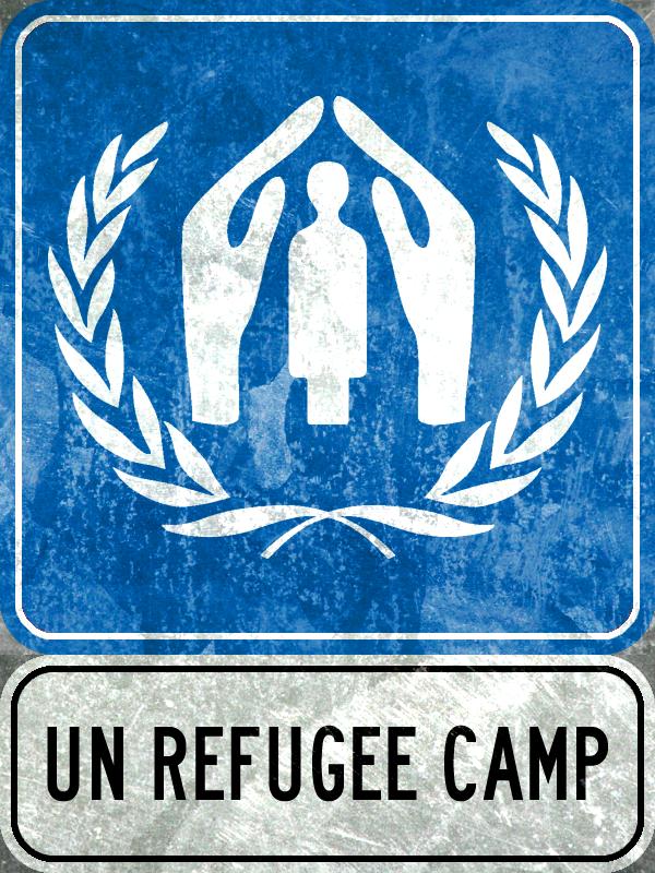 UN Refugee Camp by MouseDenton