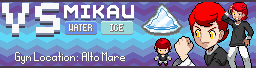 Mikau Gym Leader Banner - New by Parastorm