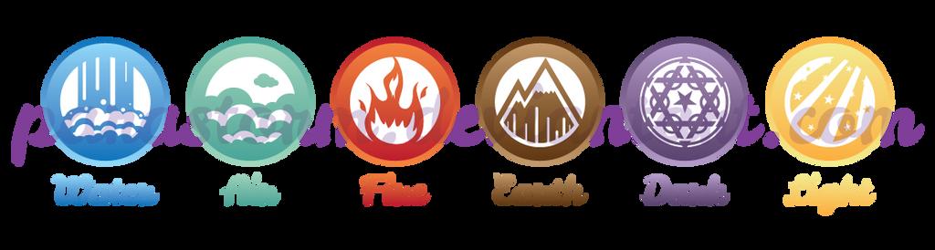 Elemental Symbol Designs By Parastorm On Deviantart