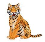 Taz the tiger by labradorpup2001