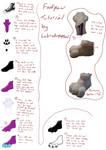 Fursuit footpaws tutorial