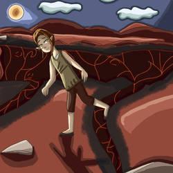 Training over the lava lake