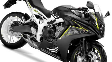 Honda CBR650F 2016 Black Mat/White by NeySander