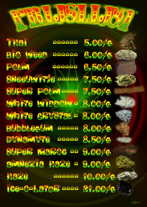 Pot Weed Prices From Amsterdam By Stonersart On Deviantart
