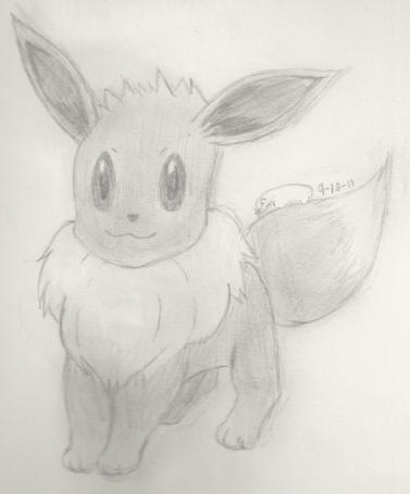 Pokemon: Eevee by Emily62507