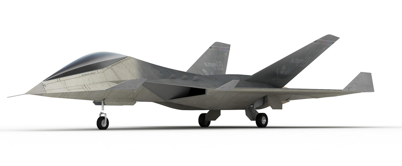 "The ""Vengeance"" Jet Fighter by Riddlez46"