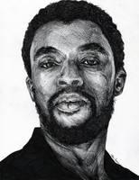 Chadwick Boseman by TylerClement