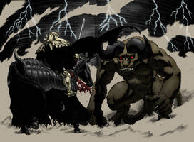 Epic Battle by Duster9317