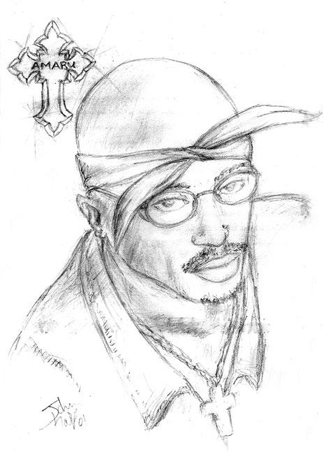 2pac coloring pages