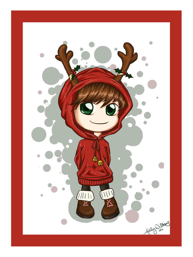 Little Reindeer Boy by wanderingbusker