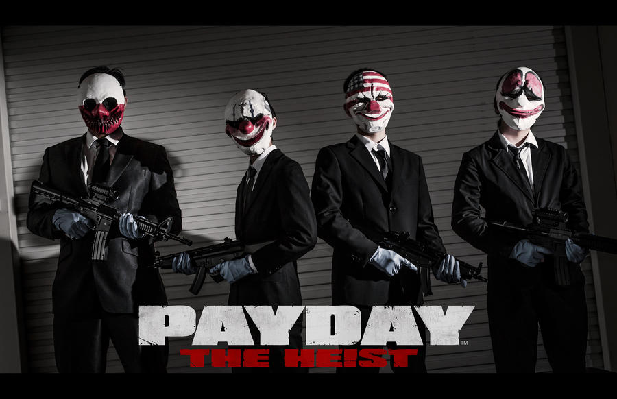 Payday: The Heist by Shazzsteel
