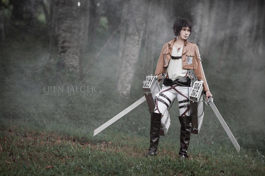 Shingeki no Kyojin - Eren Jaeger by Shazzsteel
