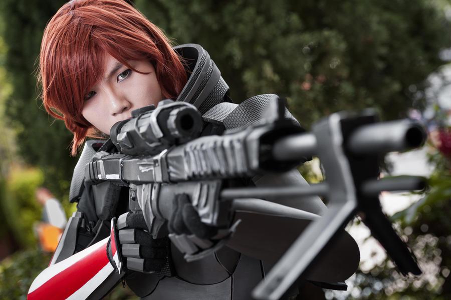 Commander Shepard by Shazzsteel