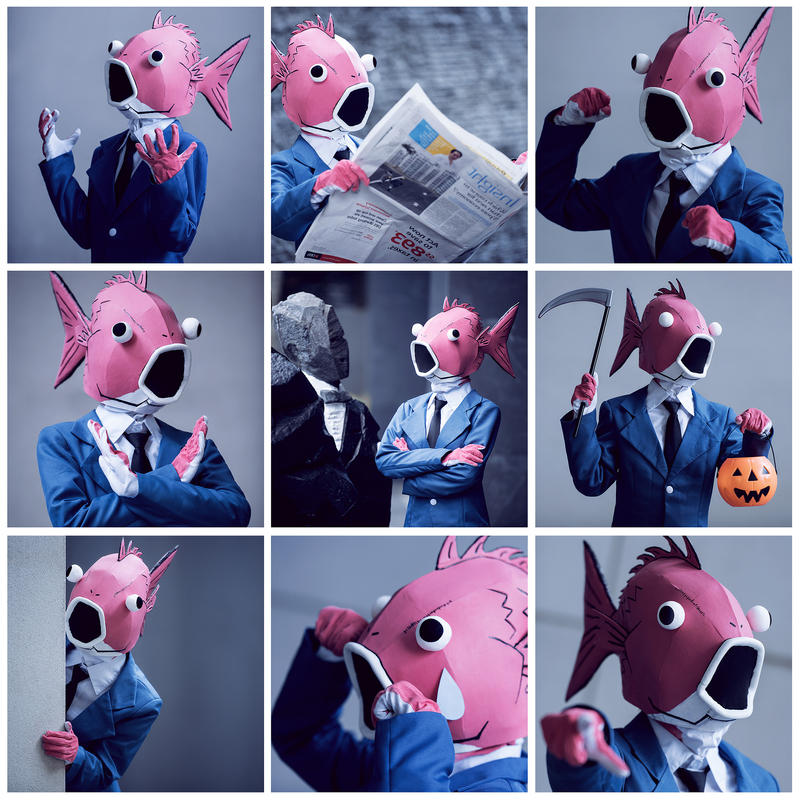 Business Fish by Shazzsteel