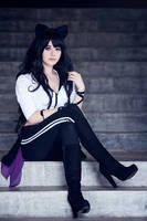 RWBY - Blake Belladonna (Alternate Outfit) by Shazzsteel