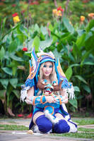 DOTA 2 - Crystal Maiden by Shazzsteel