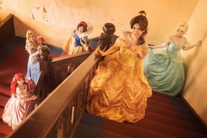 Disney Princesses by Shazzsteel