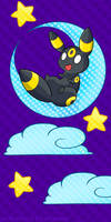 Umbreon in the Moon
