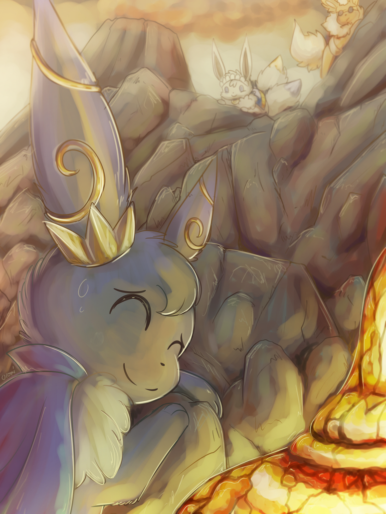Climbing Volcanoes [CONTEST ENTRY] by Uluri