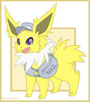 Gale: Jolteon the Messenger by Uluri