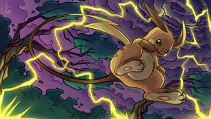 Raichu use Thunder