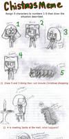 Christmas Meme '09 by RainKitsune