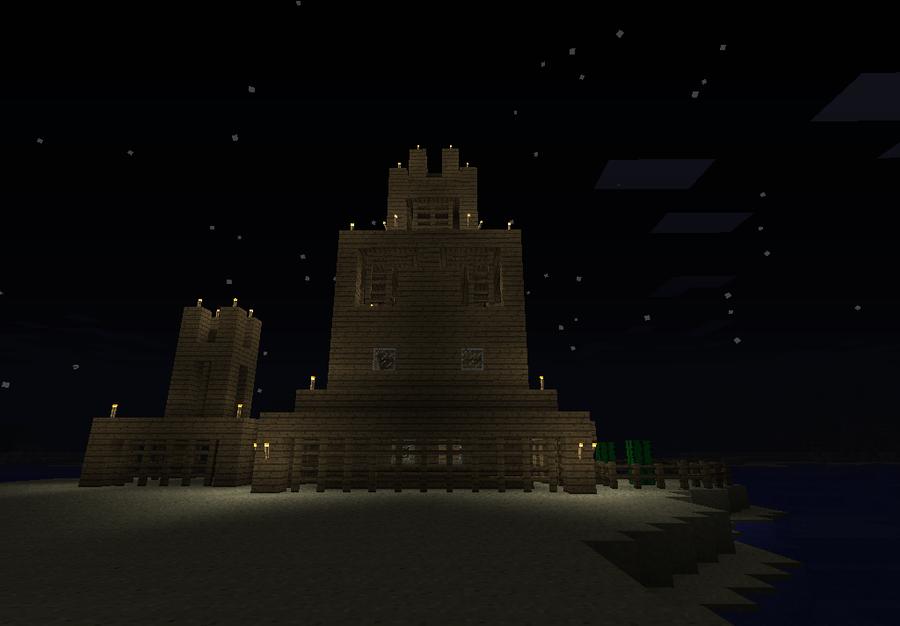 Minecraft My House By Meblogan On Deviantart