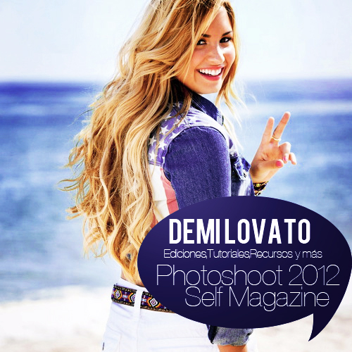 demi lovato self photoshoot - photo #1