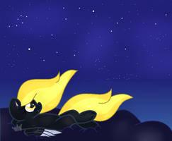 Stargazing Midnight Star