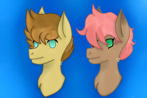 Headshot contest prize for GlitchedSeraph by Royal-Snowflake