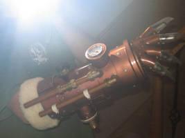 steampunk arm. by juggern0ught