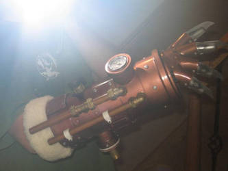 steampunk arm. by juggern0ught