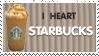 I Heart Starbucks Stamp by Tsubaroo